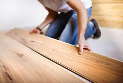 Holzboden verlegen