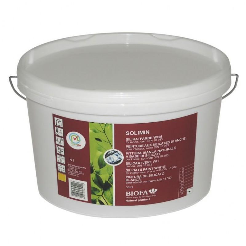 Biofa Solimin Silikatfarbe weiß 10 Liter